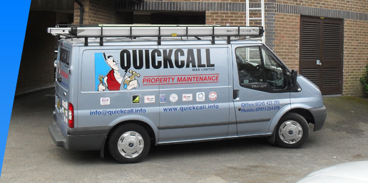 Quickcall fleet of vehicles
